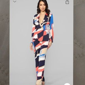 Abstract Point of View Suit Art Fashionnova